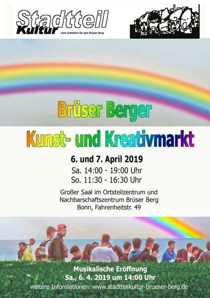 6. - 7. April 2019; Kunst- und Kreativmarkt ...