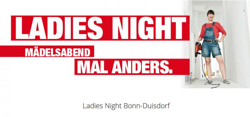 Ladies Night bei Hellweg- Duisdorf